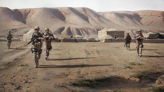De los Tercios a Afganistán: diez cuadros de pintura militar de Ferrer-Dalmau