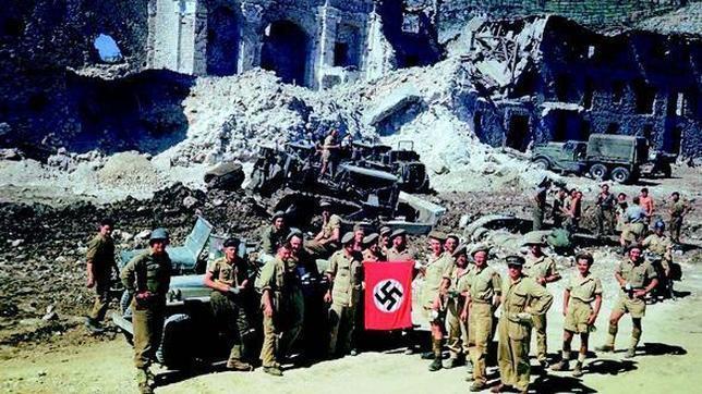 Cuatro batallas fueron necesarias para desalojar a los alemanes de Montecassino