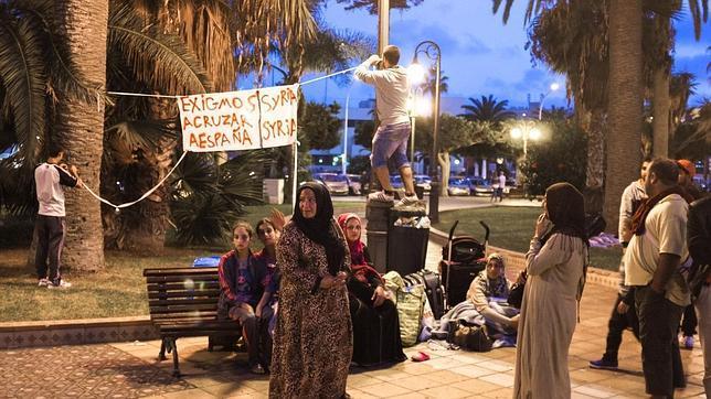 El otro problema migratorio de Melilla: los sirios