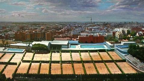 Piscinas de la Fundación Santiago Apóstol en Madrid