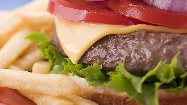 El origen de la hamburguesa