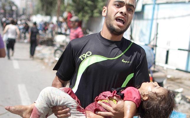 La ONU tacha de «acto criminal» el bombardeo contra su escuela en Rafah
