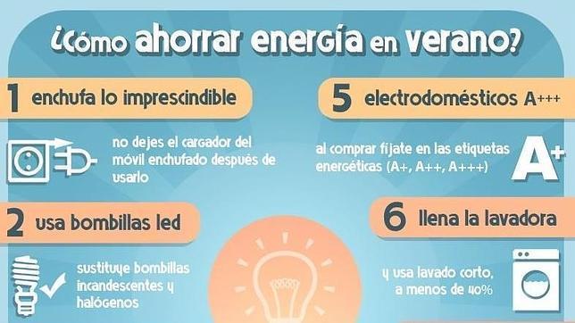 Ocho trucos para ahorrar energía (y dinero) al cambiar algunos hábitos