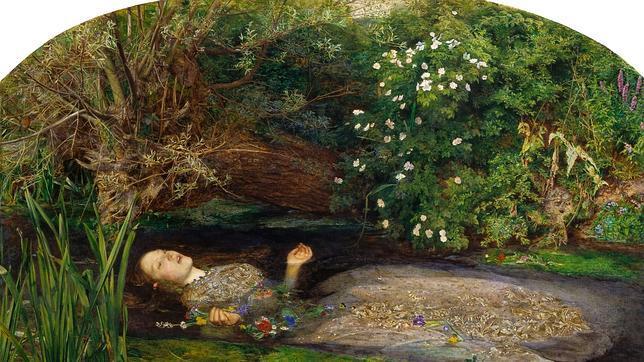 La «Ofelia» de Millais es una de las obras más queridas de Reino Unido