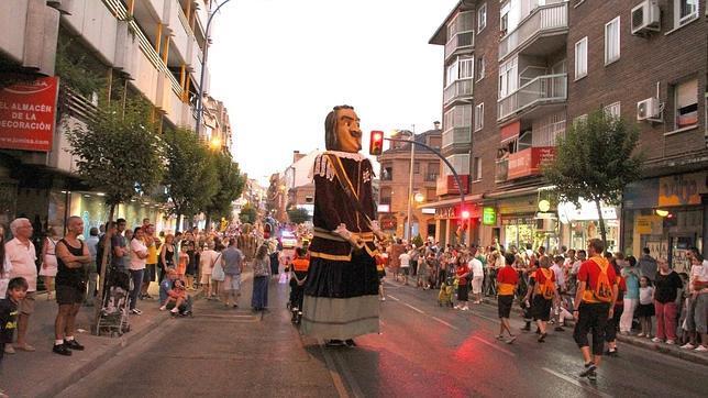 la avenida dos de mayo en leganes: