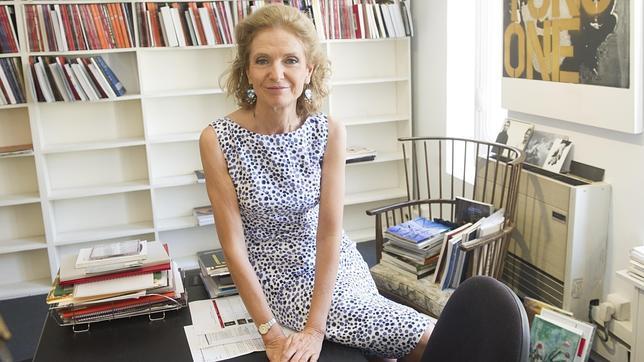 Pilar González de Gregorio en su despacho de Christie's España