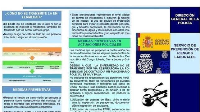 Les agents à la frontière espagnole, prêts à virus  Ebola