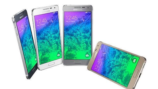 Samsung presenta el Galaxy Alpha, su móvil metálico