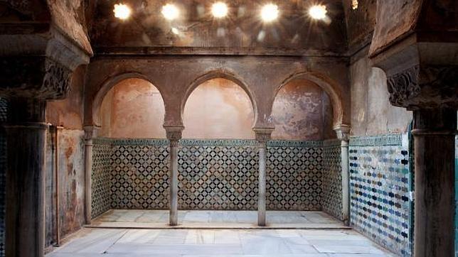 El ba o de comares de la alhambra ser restaurado - Banos arabes palacio de comares ...