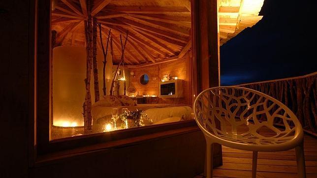 Seis de los mejores glampings de espa a - Casa arbol zeanuri ...
