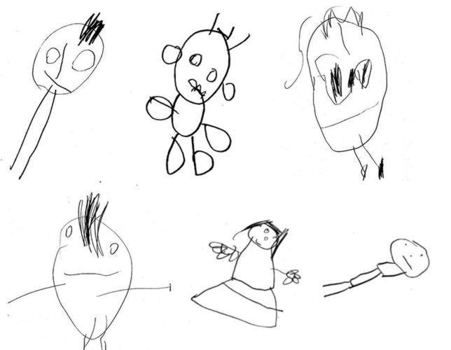 Mira Cómo Dibujan Tus Hijos Y Sabrás Lo Inteligentes Que Serán
