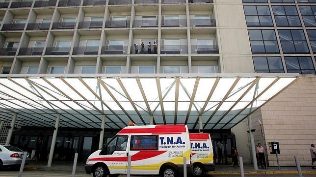 Imagen del Hospital de La Ribera de Alzira, donde estaba ingresada la víctima por violencia machista de Catadau