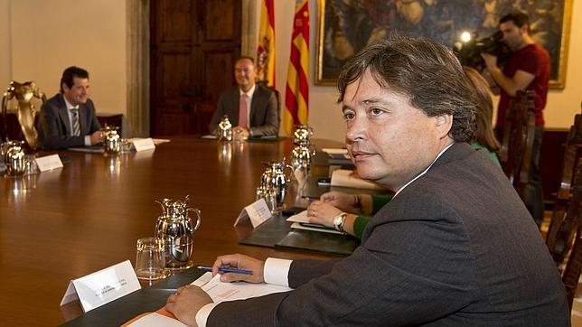 Imagen de Luís Santamaría, conseller de Gobernación y Justica