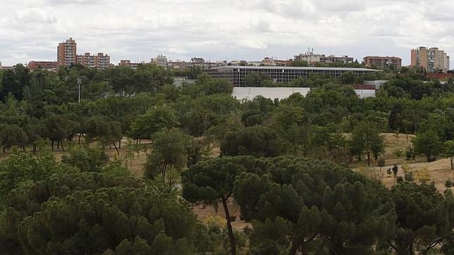Vistas de la Casa de Campo desde el teleférico
