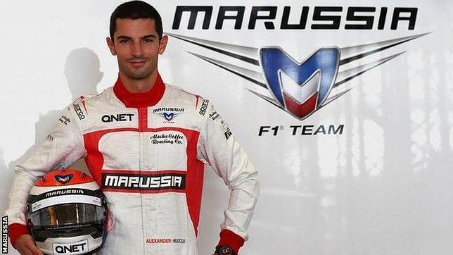 Alexander Rossi debutará en Bélgica con Marussia