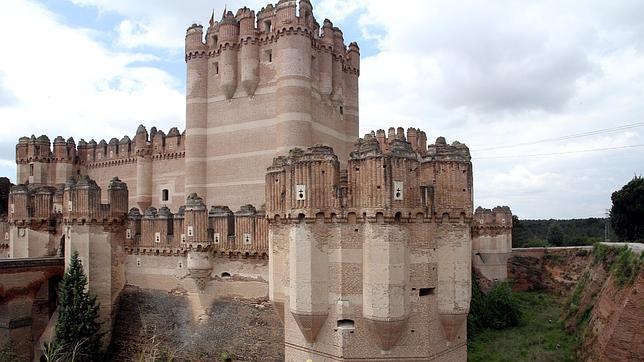 El castillo de Coca es Monumento Histórico Nacional desde 1931
