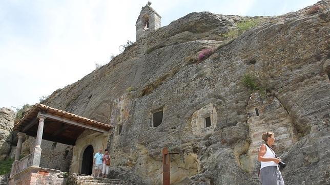La iglesia rupestre de Olleros de Pisuerga es la mejor conservada de toda la Península