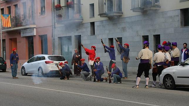 Simulan el fusilamiento de un concejal del Partido Popular en Barcelona