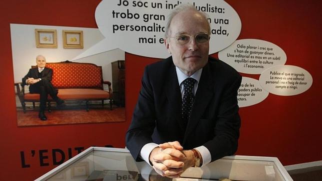 Jaume Vallcorba, en una imagen del año 2010