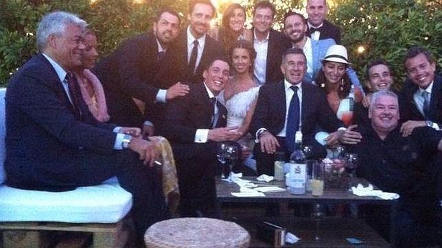 El Gente Aleix amp;estilo piloto Espargaró boda durante MotoGP de su F5Hq15