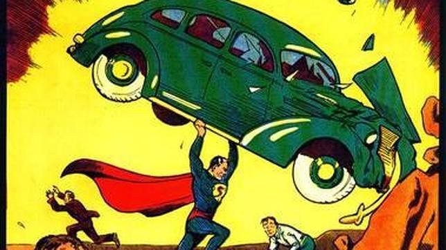 Portada del cómic original de «Superman» vendido en eBay