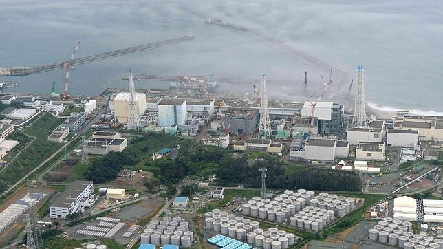 La planta nuclear de Fukushima resultó gravemente dañada por el terremoto y posterior tsunami de 2011