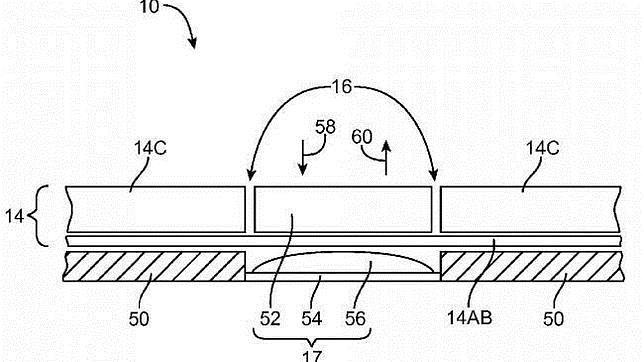 Apple patenta un diseño de pantalla flexible en iPad y iPhone