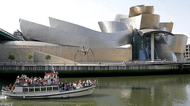 Imagen de archivo del exterior del Museo Guggenhein de Bilbao