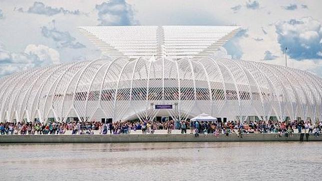 El nuevo centro es obra del español Santiago Calatrava