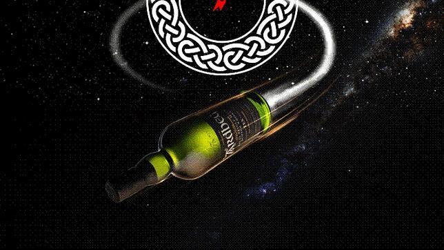 Imagen de la campaña del whisky espacial