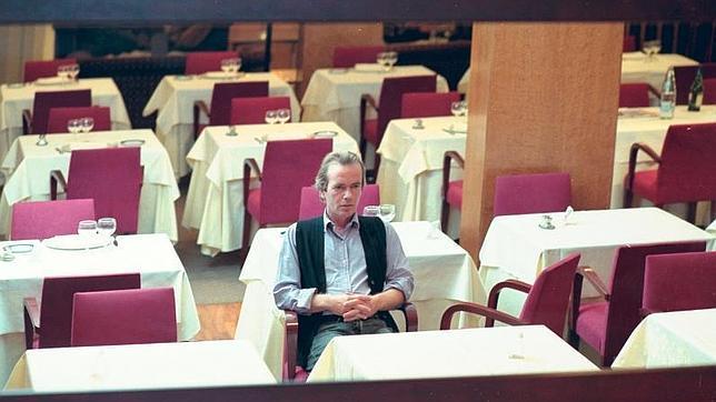 Martin Amis durante una visita a España en el 2000