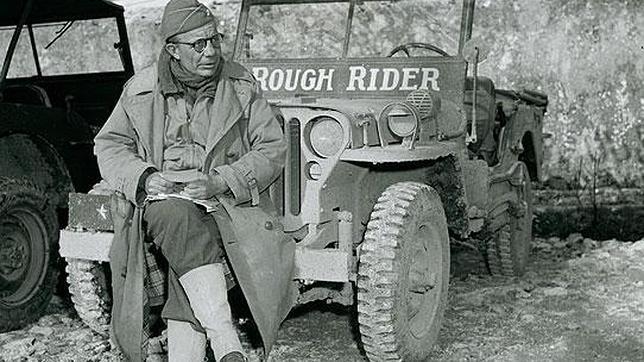 El general Roosevelt bautizó su jeep con el nombre de la unidad que su padre organizó durante la guerra de Cuba(2)