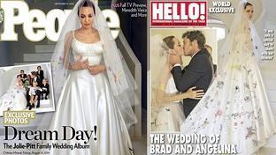 El �lbum de fotos de la boda de Angelina Jolie y Brad Pitt