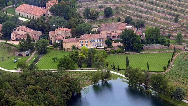 Así es el castillo Miraval, el lugar donde los actores se dieron el «sí, quiero»