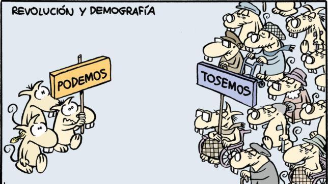 El drama demográfico español