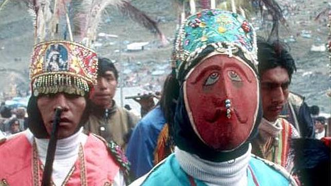 Una de las procesiones celebradas en Perú en honor a Santiago Mataindios