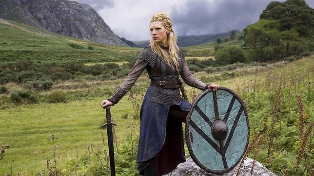 Imagen de la televisiva serie «Vikings»