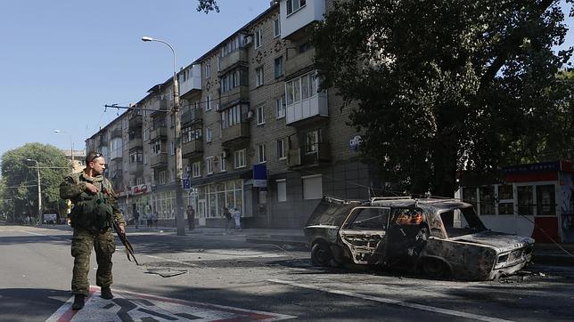 Los rebeldes admiten que hay soldados rusos «de permisos» combatiendo con ellos en el este de Ucrania