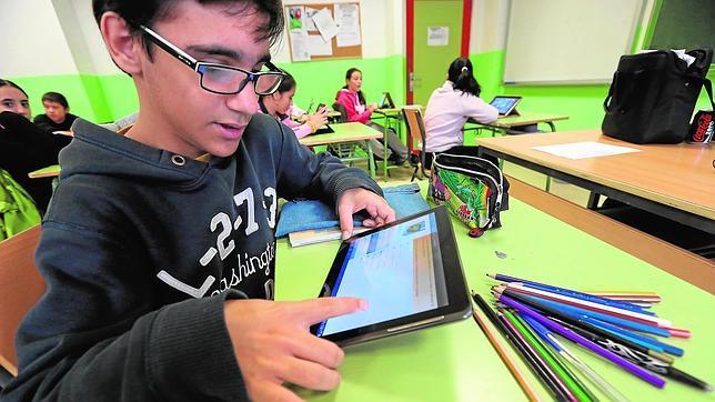 Programa piloto con tabletas en el instituto Arturo Soria