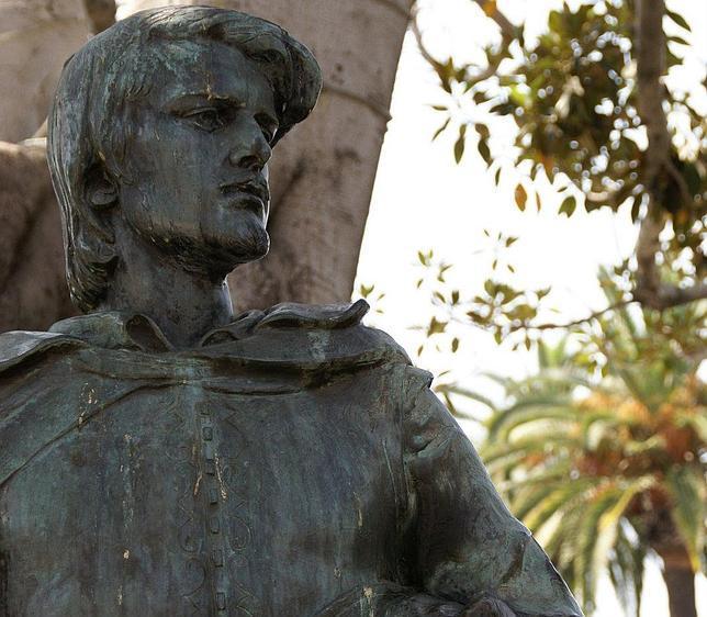 Monumento a Felipe de Neve en «La Placita» de Los Ángeles