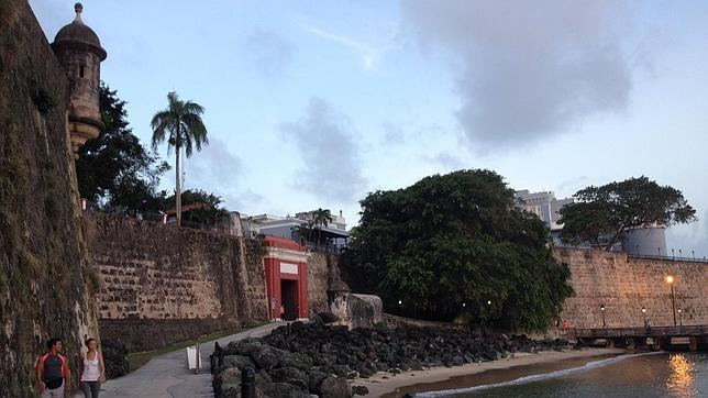 Puerta principal de la Muralla de San Juan