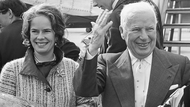 Oona era hija de Eugene O´Neill, y a los 18 años, se casó con Charles Chaplin
