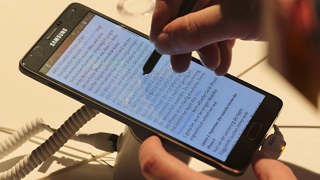 Samsung presentó recientemente Note 4