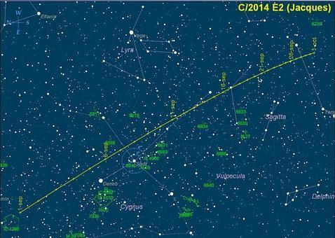 jacques cometa  478x340 - La última oportunidad para ver el cometa Jacques
