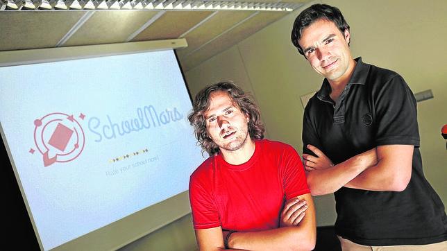 Los creadores de SchoolMars.com, Daniel Perelló y Javier Ruiz