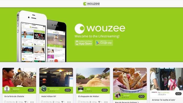 Una imagen de la web de Wouzee