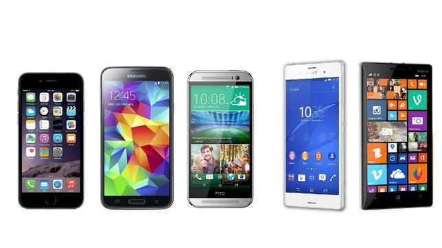 Así se ubica el iPhone 6 frente al Galaxy S5, HTC One M8, Lumia 930 y Xperia Z3