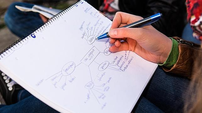 Los mapas mentales: la mejor forma de tomar apuntes en la universidad