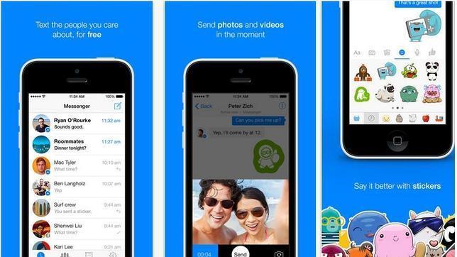 Facebook Messenger registra todo lo que hacen sus usuarios