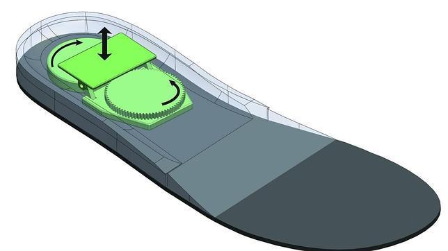 El dispositivo capta la energía y la guarda para su uso posterior